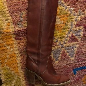 Frye Pull On Western Boot